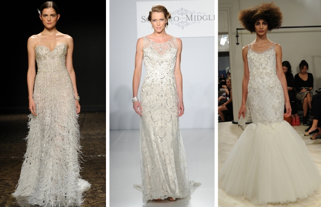 Bridal Market Bling Dress Trend