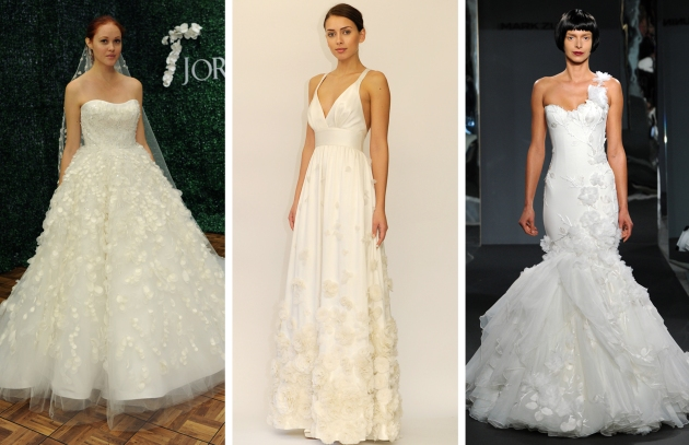 Bridal Market Mini Floral Trend