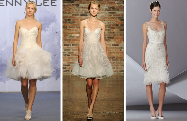 Bridal Market Short Dress Trend